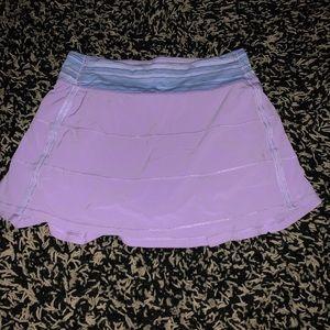 Lululemon Pace Rival Tennis Skirt